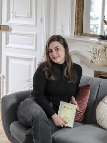 NINA et son livre incarné MOUN